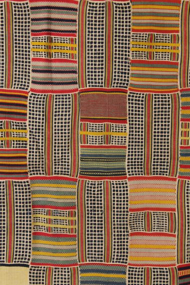 Ewe Kente Women's Multicolored